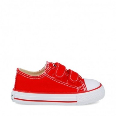 BASKET VELCRO RED