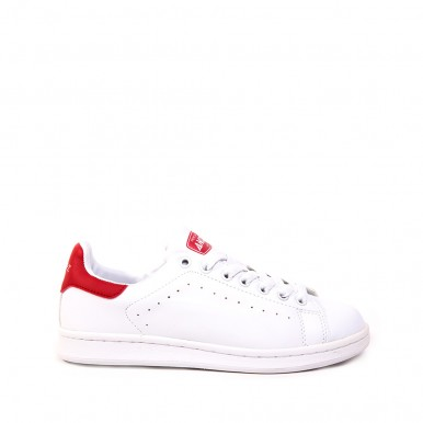 TENNIS WHITE-RED