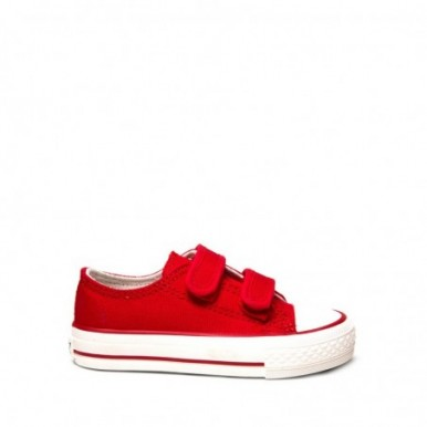 BASKET BABY VELCRO RED