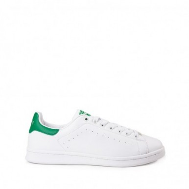 TENNIS WHITE-GREEN